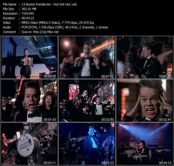 Buster Poindexter video screenshot
