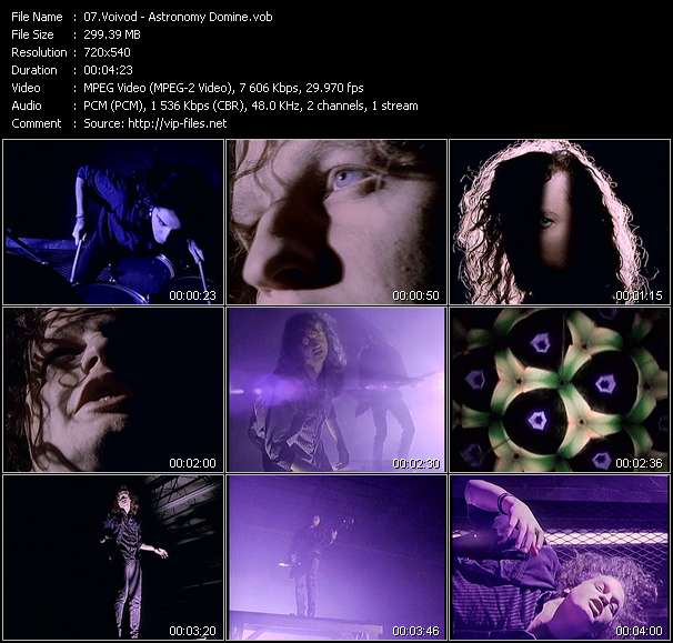 Voivod video screenshot