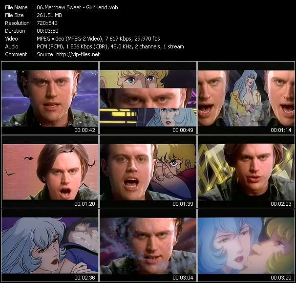 Matthew Sweet video screenshot
