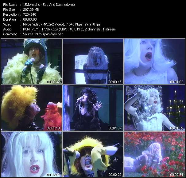Nymphs video screenshot