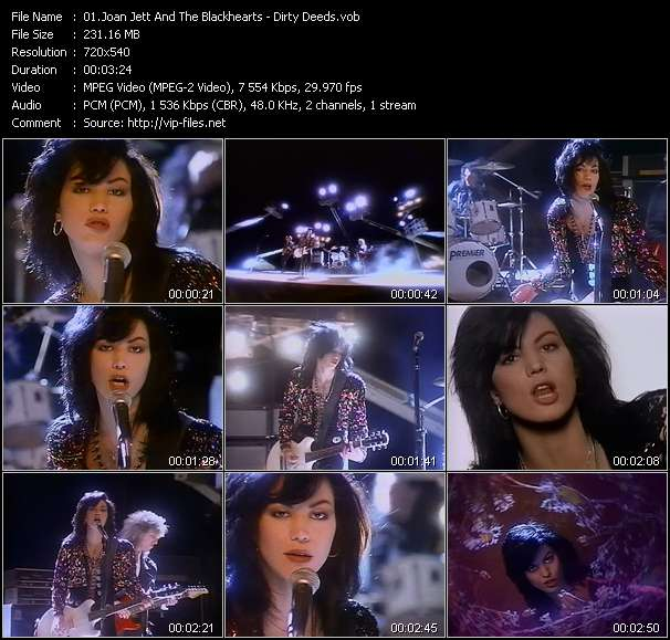 Joan Jett And The Blackhearts video screenshot