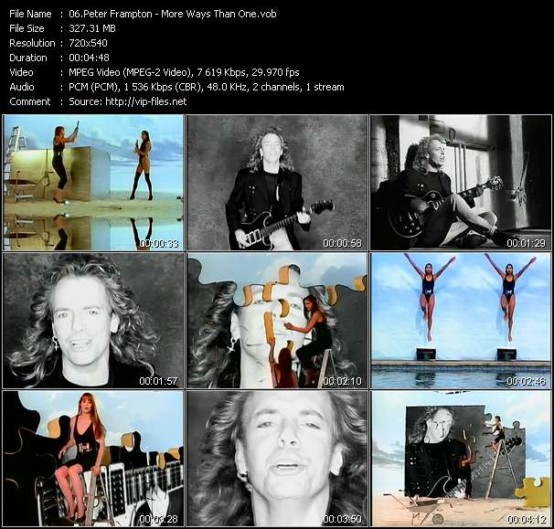 Peter Frampton video screenshot