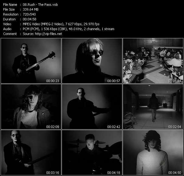 Rush video screenshot