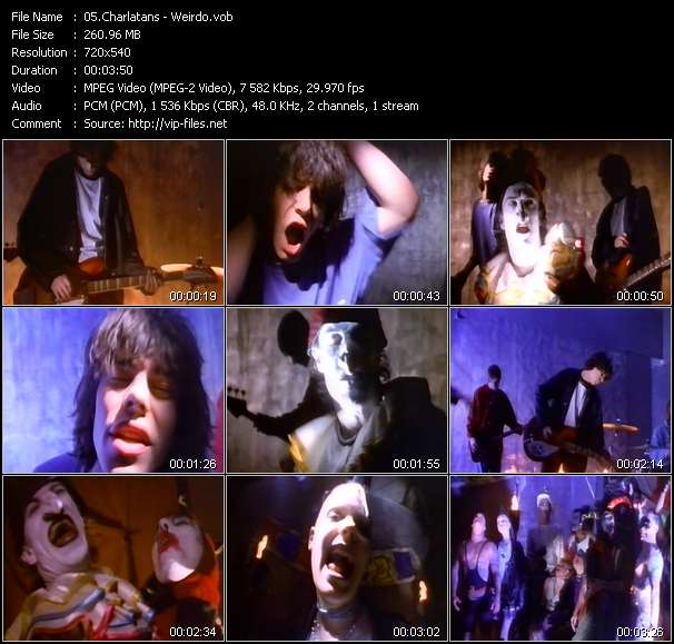 Charlatans video screenshot