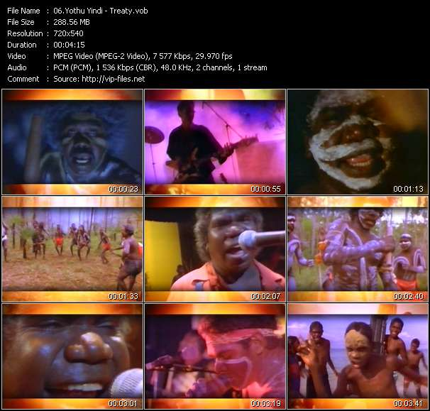 Yothu Yindi video screenshot
