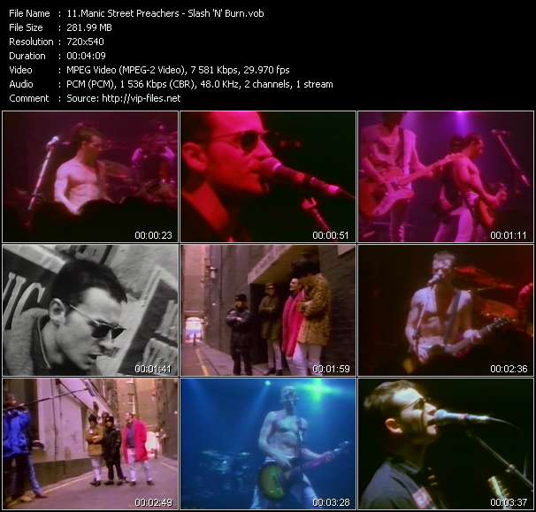 Manic Street Preachers video screenshot
