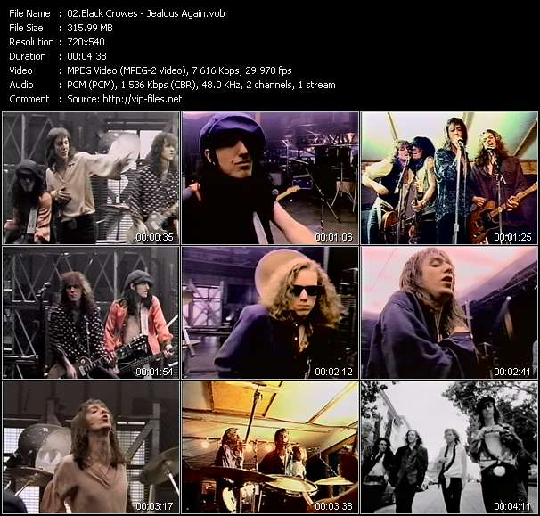 Black Crowes video screenshot