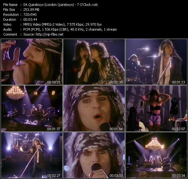 Quireboys (London Quireboys) video screenshot