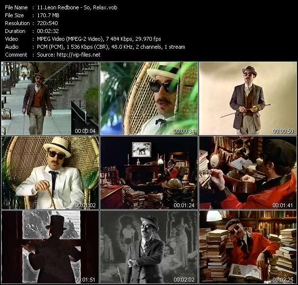 Leon Redbone video screenshot