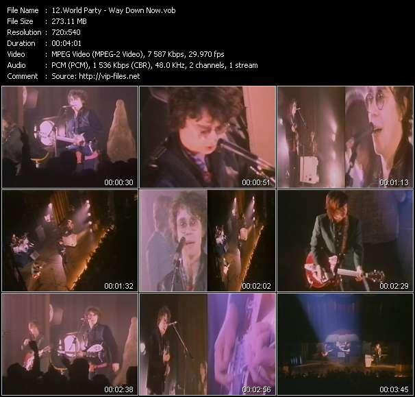 World Party video screenshot