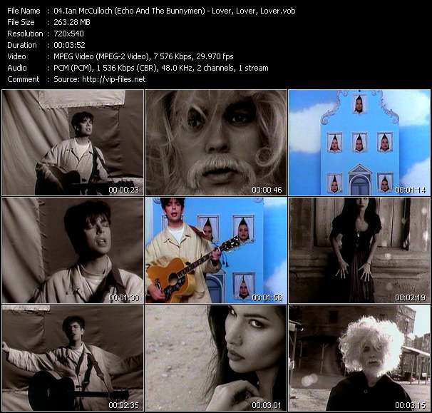 Ian McCulloch (Echo And The Bunnymen) video screenshot