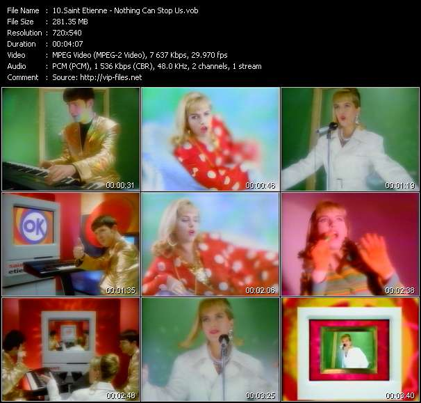 Saint Etienne video screenshot