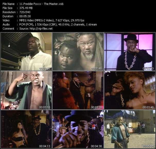 Freddie Foxxx video screenshot