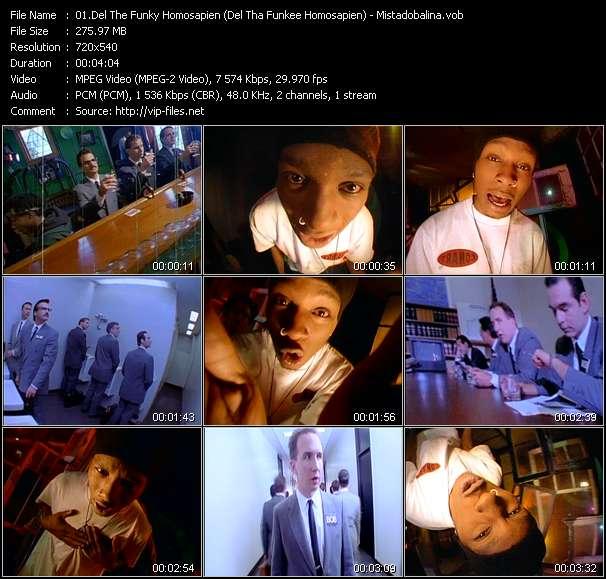 Del The Funky Homosapien (Del Tha Funkee Homosapien) video screenshot