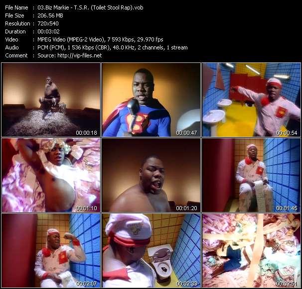 Biz Markie video screenshot