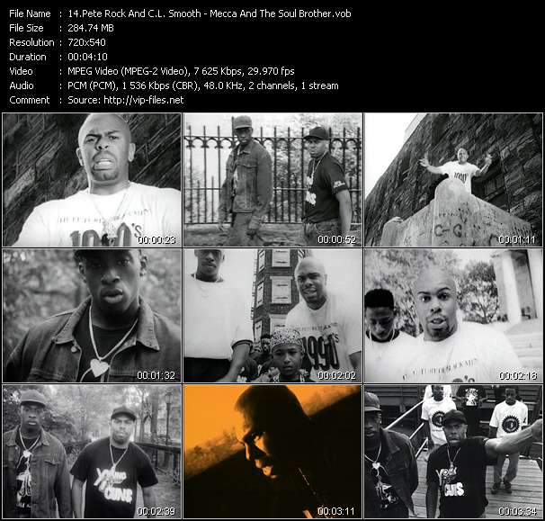 Pete Rock And C.L. Smooth video screenshot