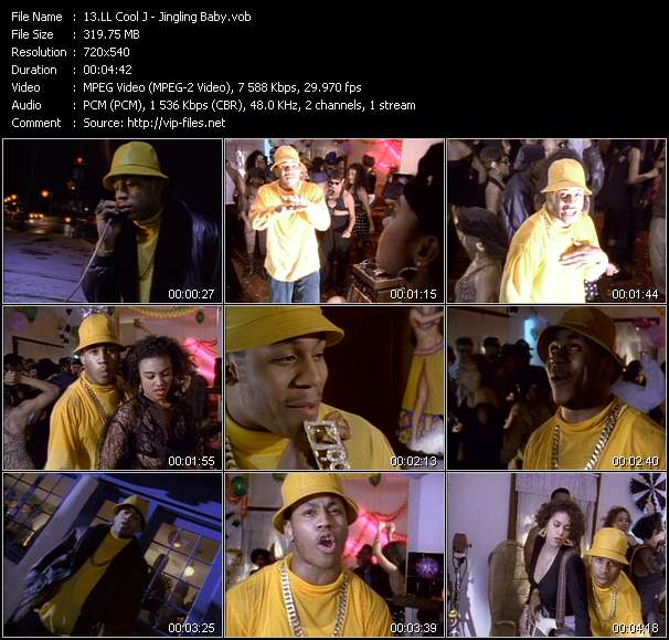 LL Cool J video screenshot