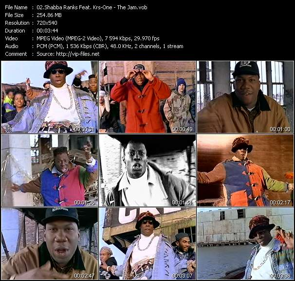 Shabba Ranks Feat. Krs-One video screenshot