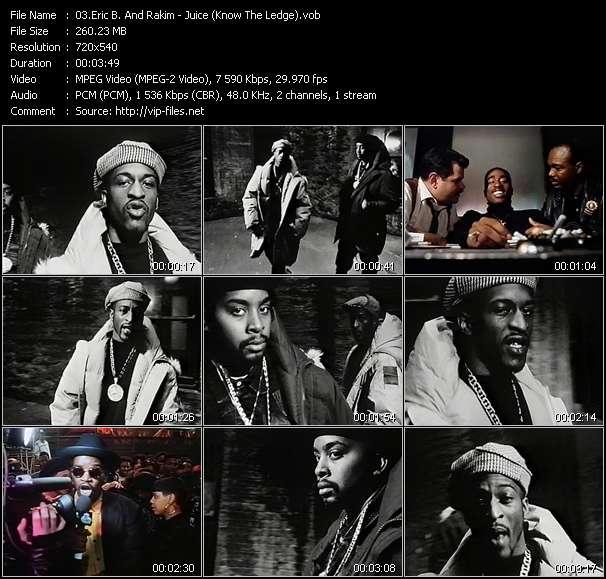 Eric B. And Rakim video screenshot