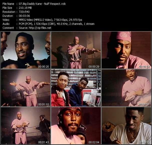 Big Daddy Kane video screenshot
