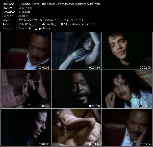 Quincy Jones Feat. El DeBarge, James Ingram, Al B. Sure! And Barry White video screenshot