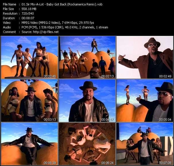 Sir Mix-A-Lot video screenshot