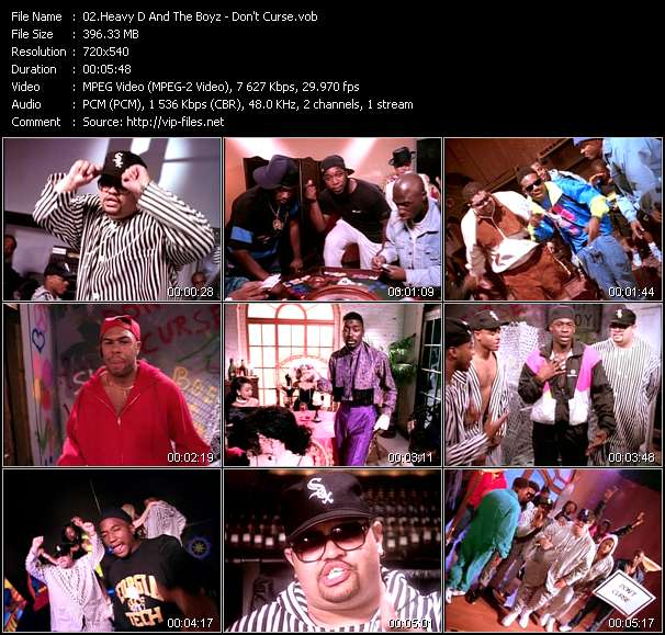 Heavy D And The Boyz Feat. Big Daddy Kane, C.L. Smooth, Grand Puba, Kool G. Rap And Q-Tip video screenshot