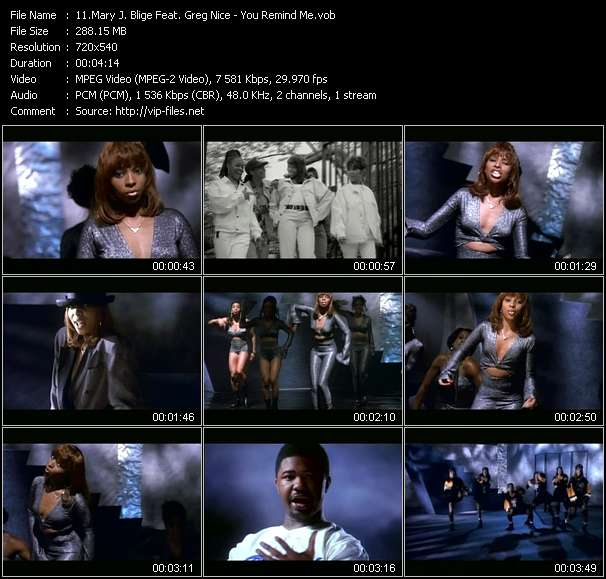 Mary J. Blige Feat. Greg Nice video screenshot