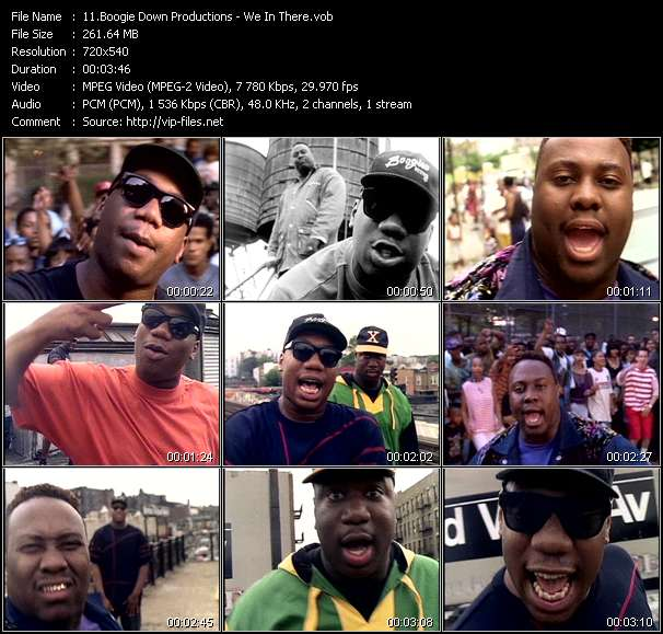Boogie Down Productions video screenshot