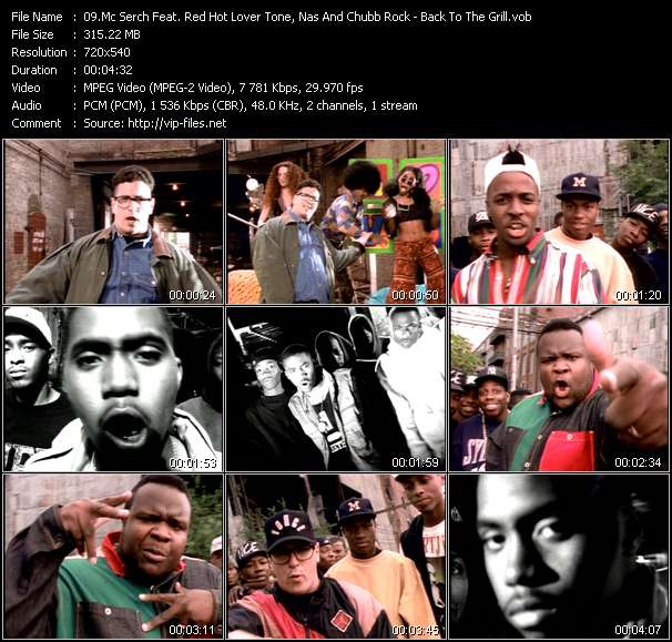 Mc Serch Feat. Red Hot Lover Tone, Nas And Chubb Rock video screenshot