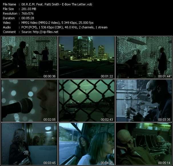 R.E.M. Feat. Patti Smith video screenshot