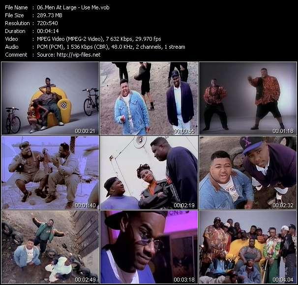 Men At Large video screenshot