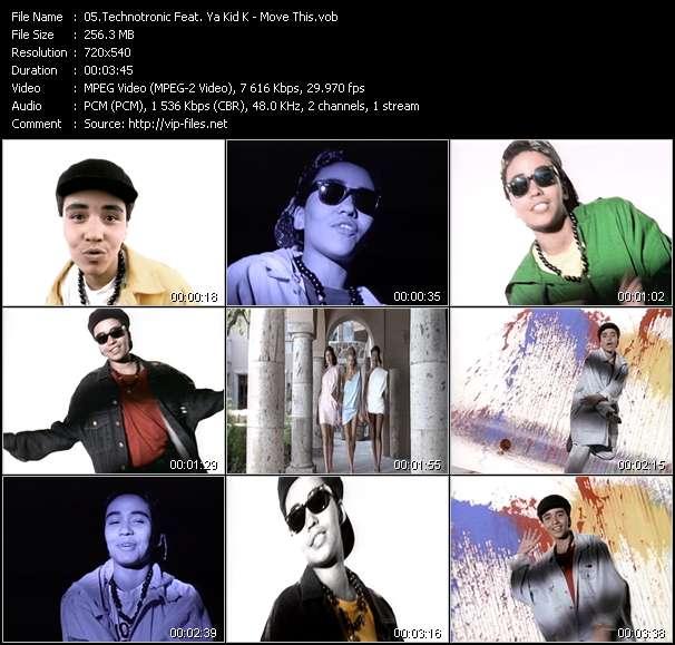 Technotronic Feat. Ya Kid K video screenshot