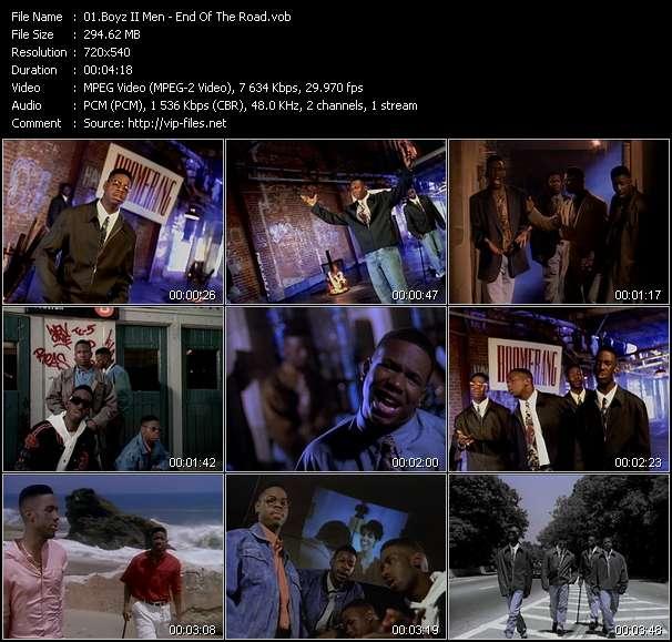 "Boyz ii men ""end of the road"" sheet music notes, chords."