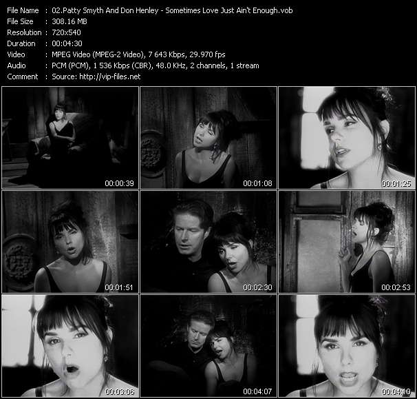 Patty Smyth And Don Henley video screenshot