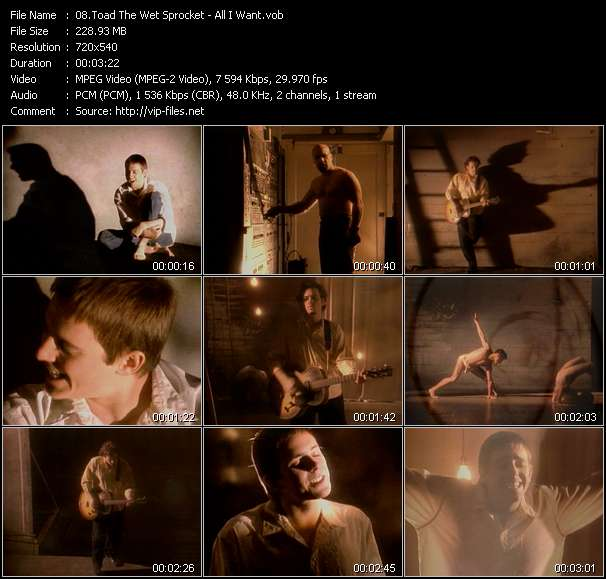 Toad The Wet Sprocket video screenshot