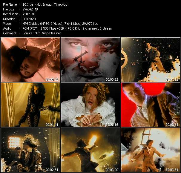 Inxs video screenshot
