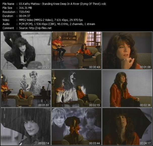Kathy Mattea video screenshot