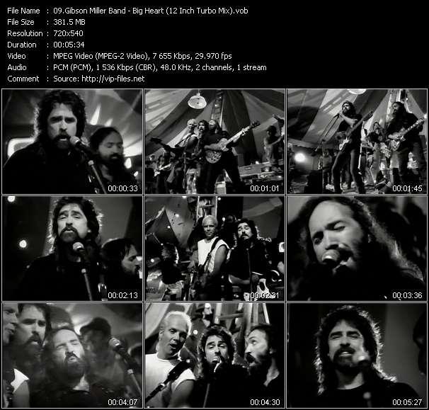 Gibson Miller Band video screenshot
