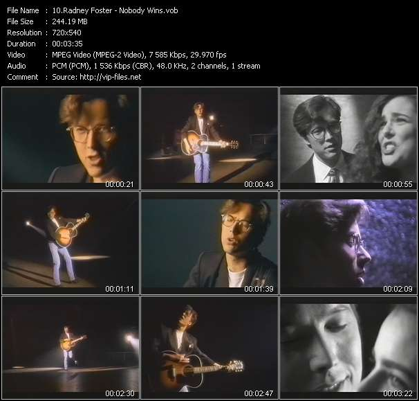 Radney Foster video screenshot