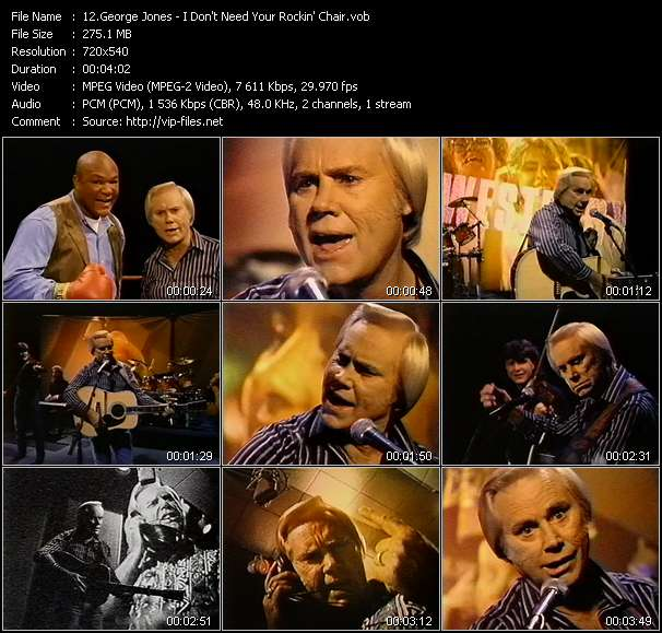 George Jones video screenshot