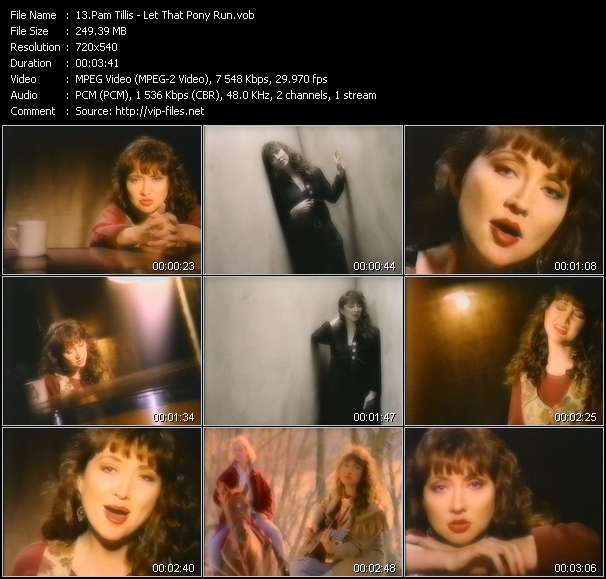 Pam Tillis video screenshot