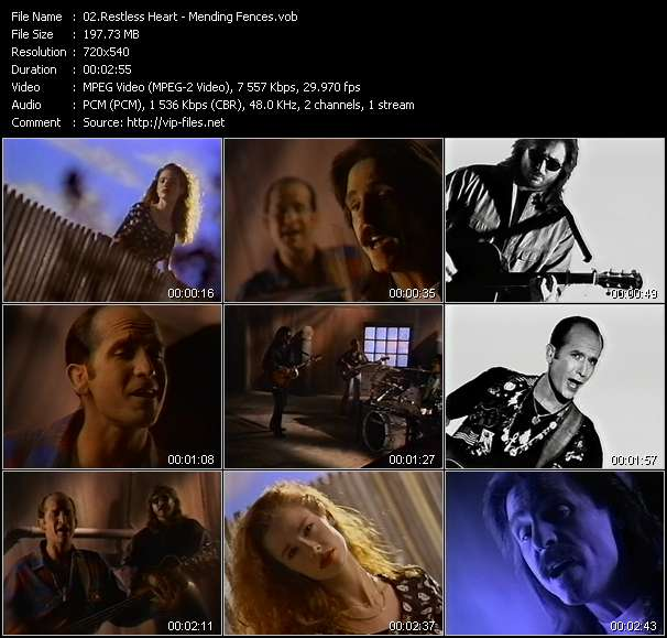 Restless Heart video screenshot