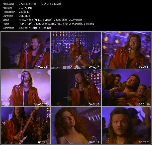 Travis Tritt video screenshot