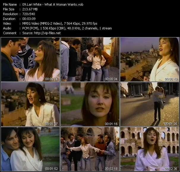 Lari White video screenshot
