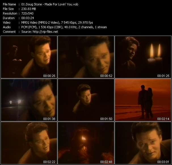 Doug Stone video screenshot