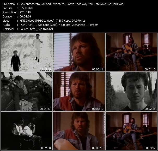 Confederate Railroad video screenshot