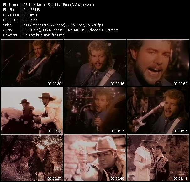 Toby Keith video screenshot