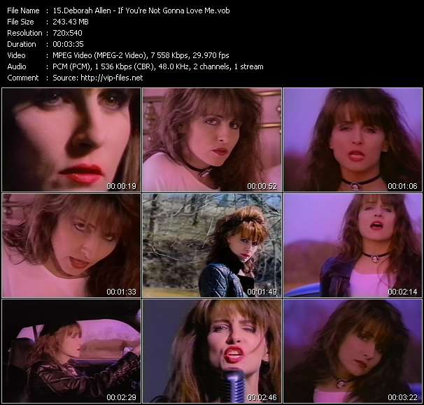Deborah Allen video screenshot