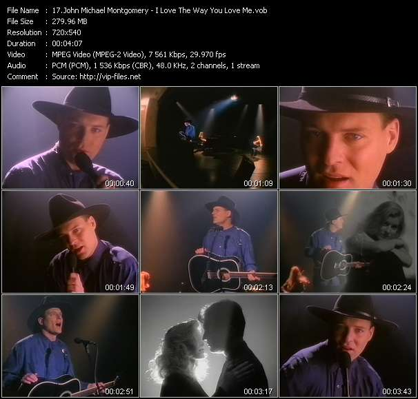 John Michael Montgomery video screenshot